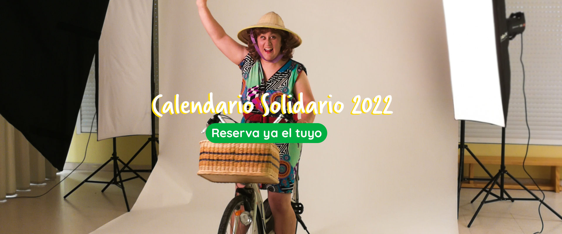 Reseva ya tu Calendario Solidario 2022. Fotografía del making of del Calendario Solidario 2019.