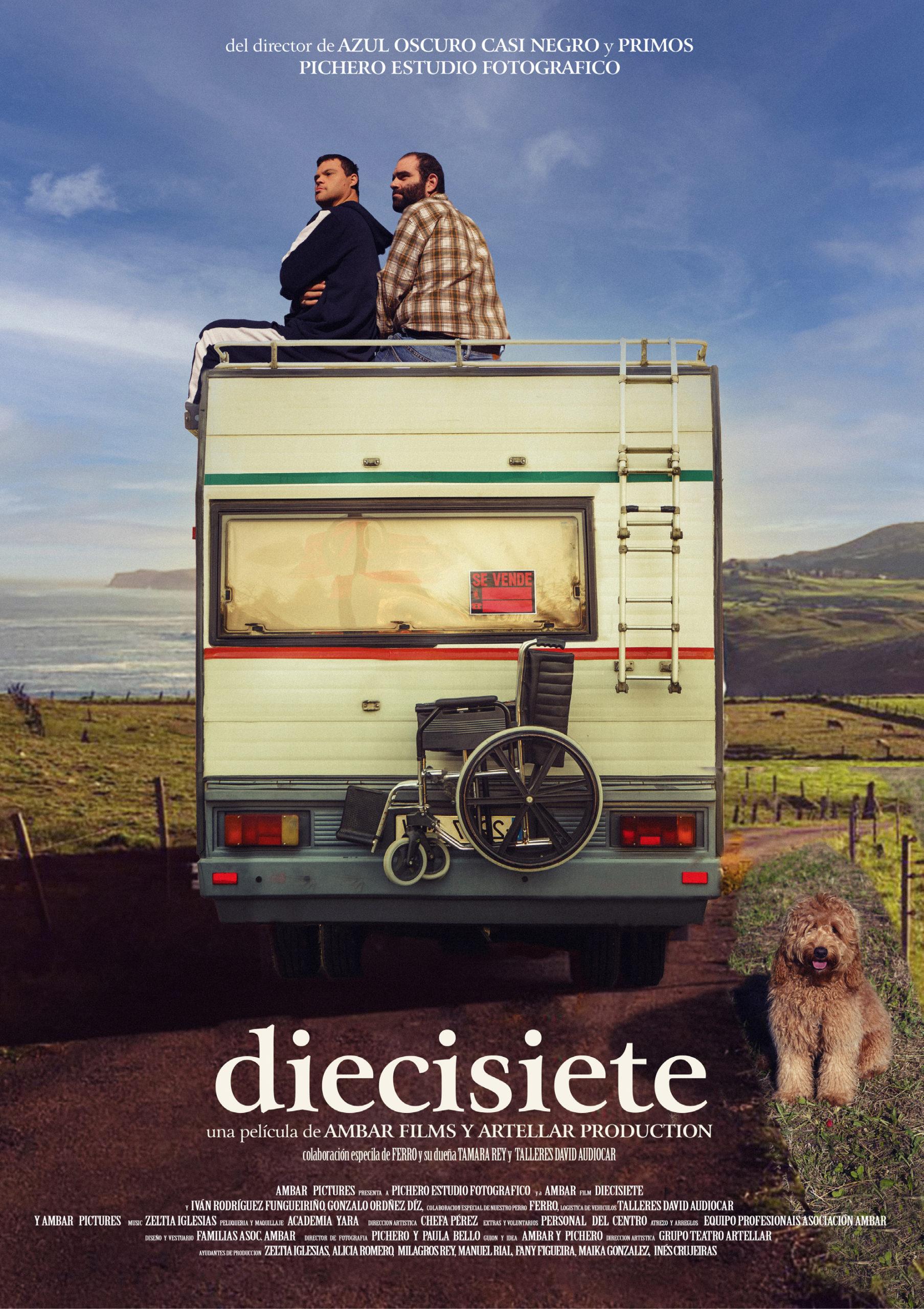 Portada da película 'Diecisiete' reinterpretada polas persoas usuarias de Ambar